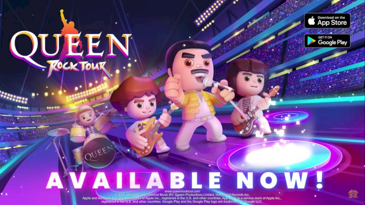 Queen lança seu primeiro jogo para celular