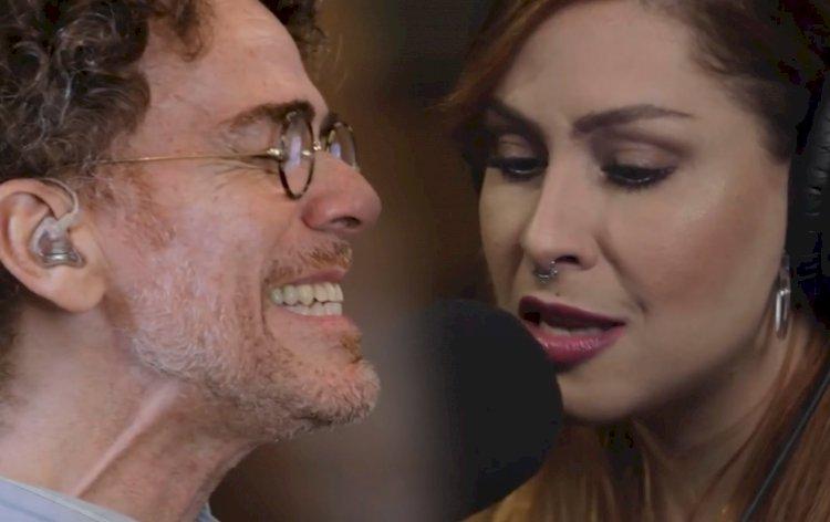 Nando Reis e Pitty lançam clipe da música 'Um Tiro no Coração'