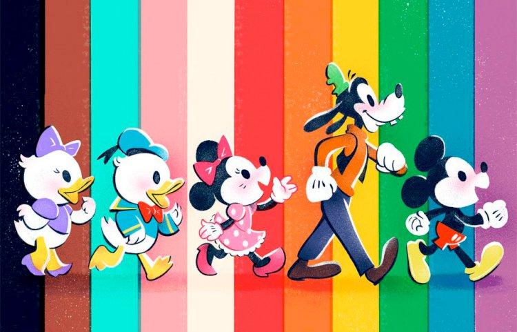 Disney anuncia série de ações para comemorar o Mês do Orgulho LGBTQIA+